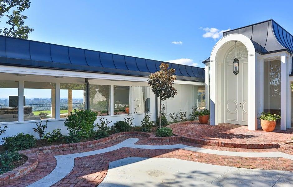 Elvis Presley Home Beverly Hills 1174 Hillcrest Front Door