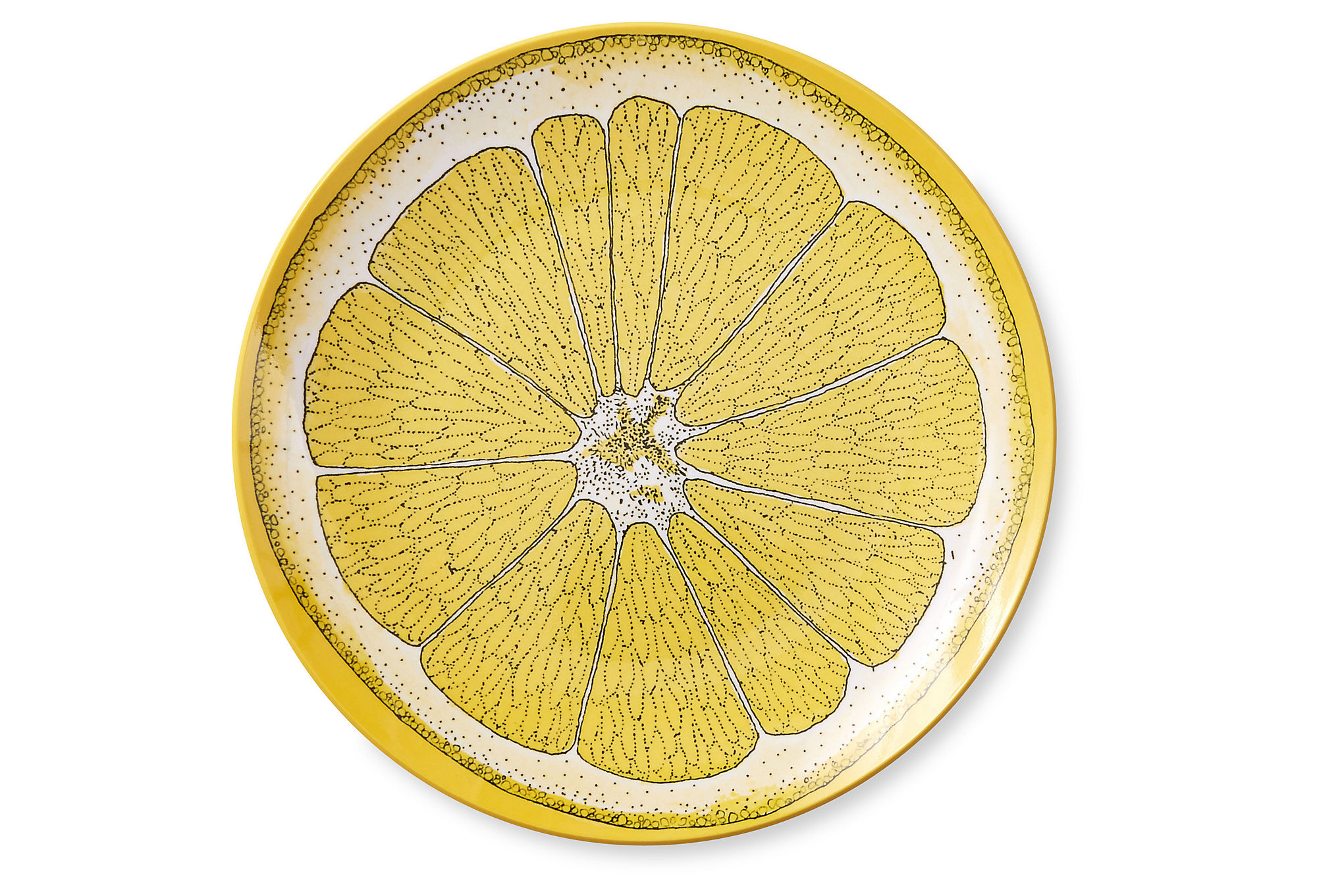 These cute lemon plates are great for a summer get together!
