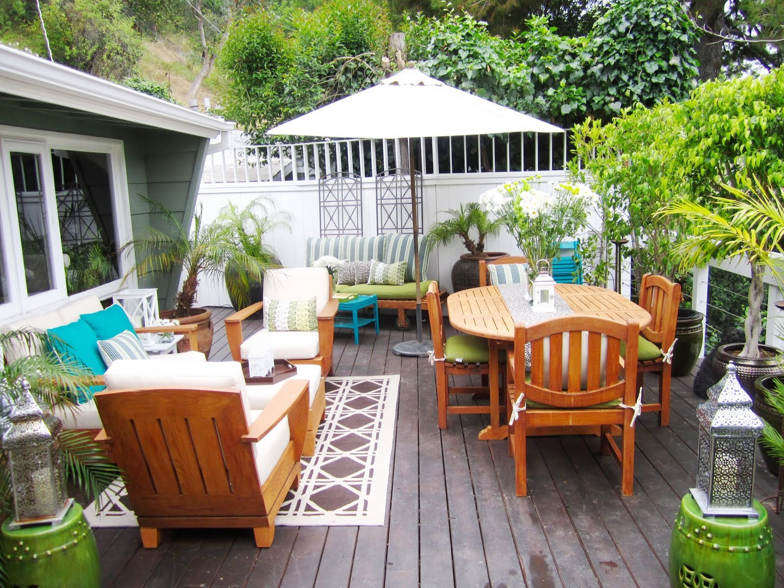 Hollywood Hills Deck Makeover 2010