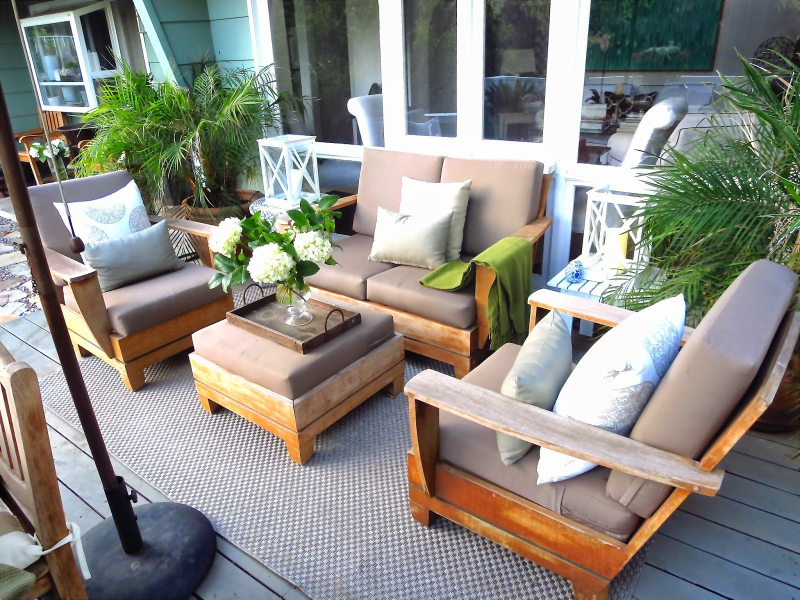 Neutral Deck Makeover 2014