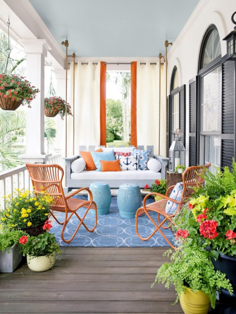 Swing Front Porches