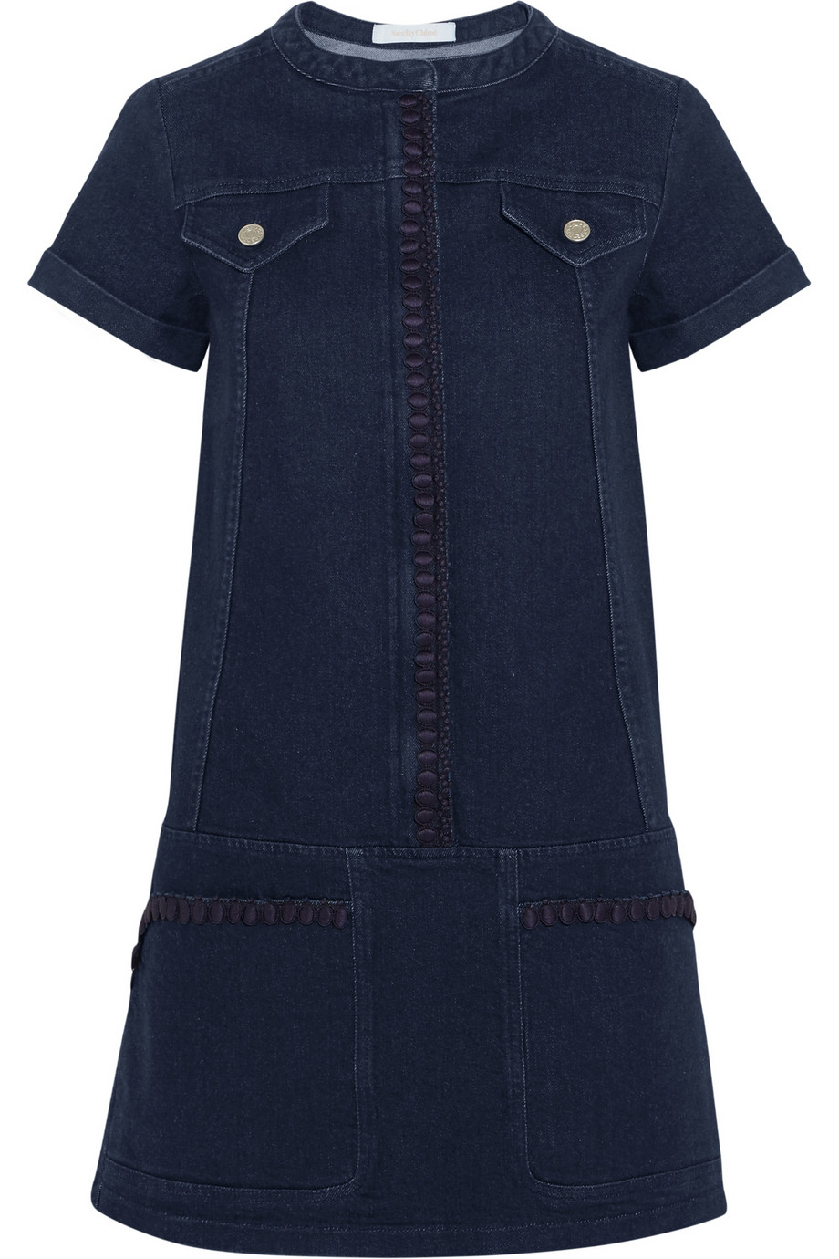 Little Blue Dress Chloe Blue Denim