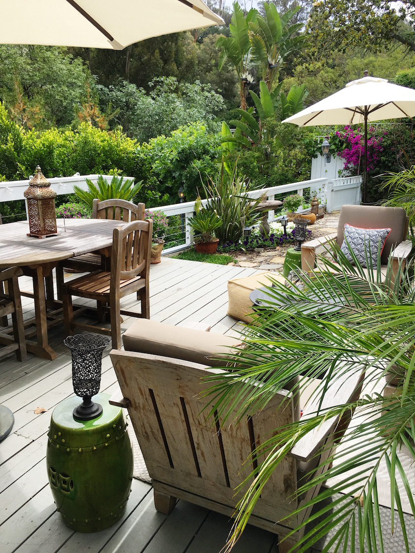 Hollywood Hills Garden Deck