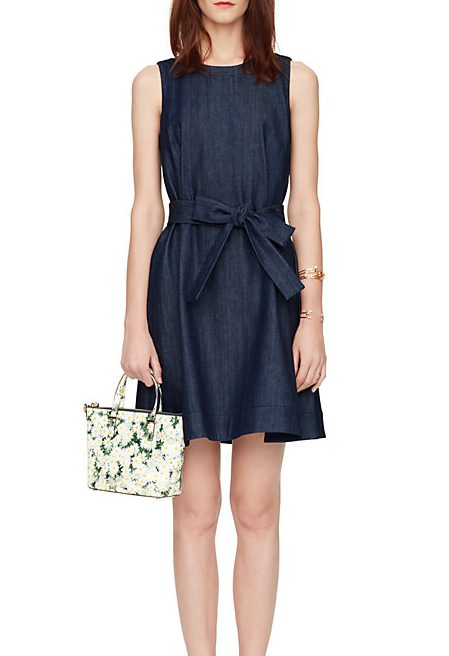 Kate Spade Blue Denim Dress