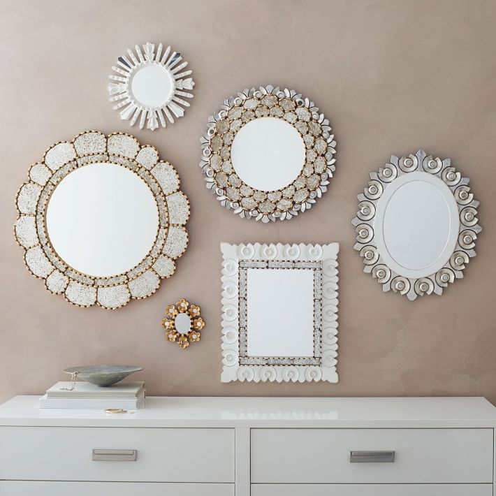 11 wall mirrors cheap to chic cococozy for Inexpensive framed mirrors