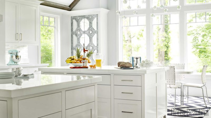 Bright White Kitchens High Gloss Cabinets