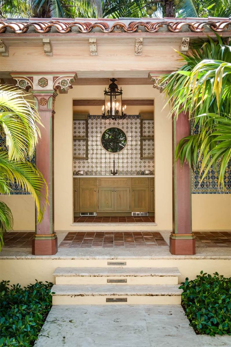 Palm Beach Poolhouse