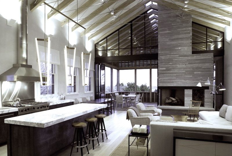 Beautiful Barn House Living Rooms Cococozy With Interior Modern Style