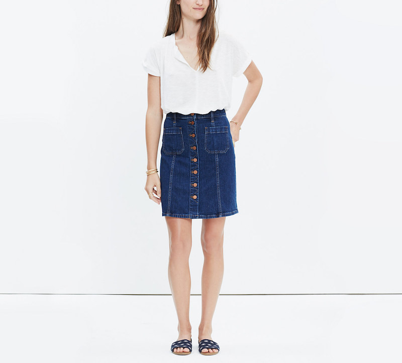 5 Denim Skirts - Fashion Finds | COCOCOZY