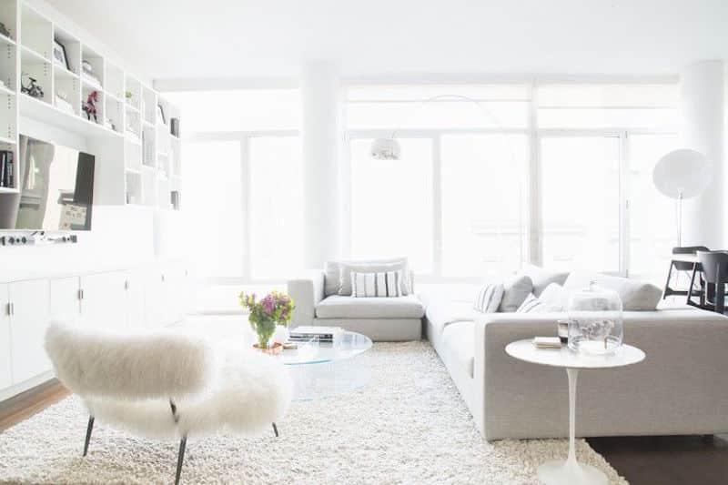 lovely lofts bright white soft neutral sofa