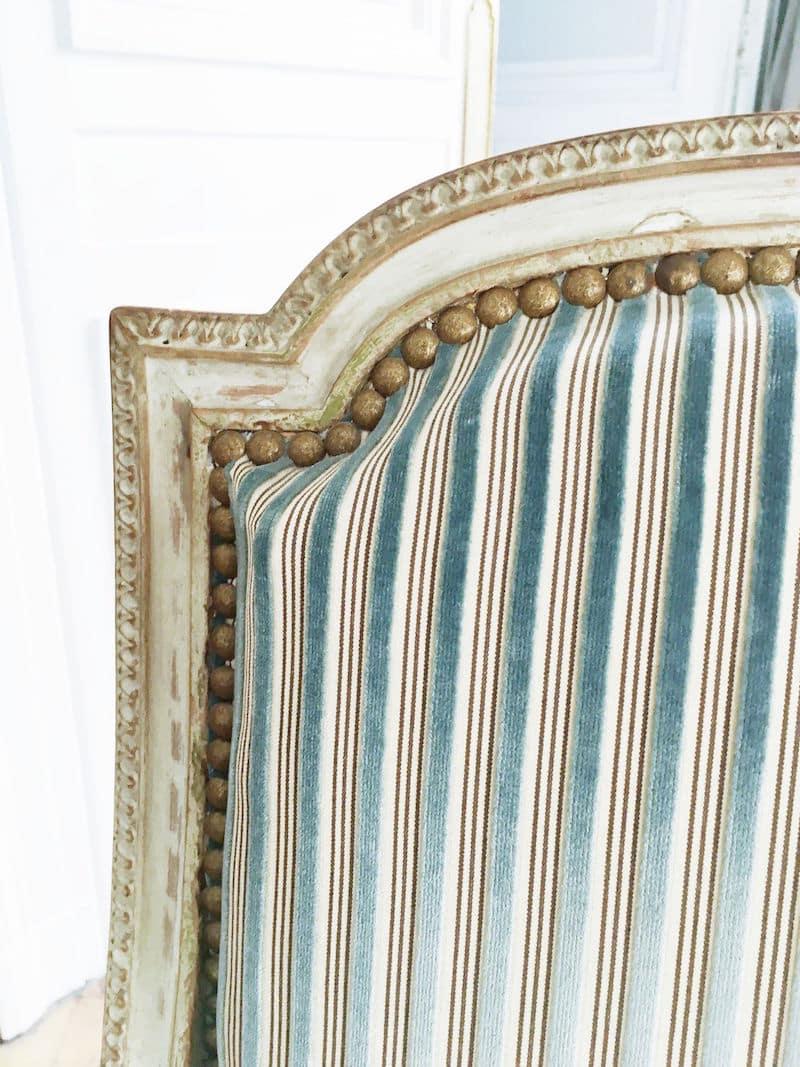 Paris Apartment Chair Stripes