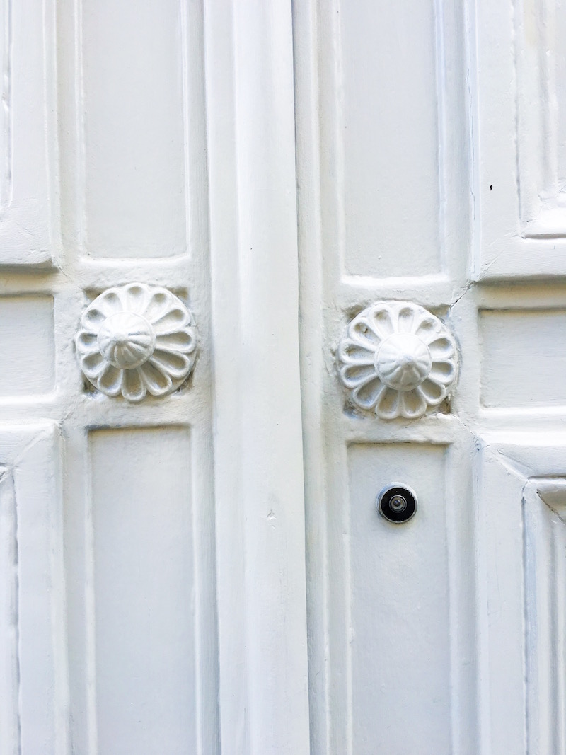 White Paris Door Knobs