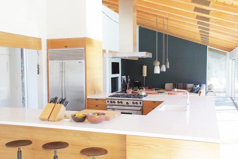 u shape kitchens beverly hills home bar stools california kitchen