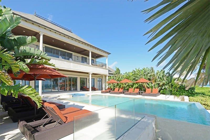 casa sophia bahamas estate pool