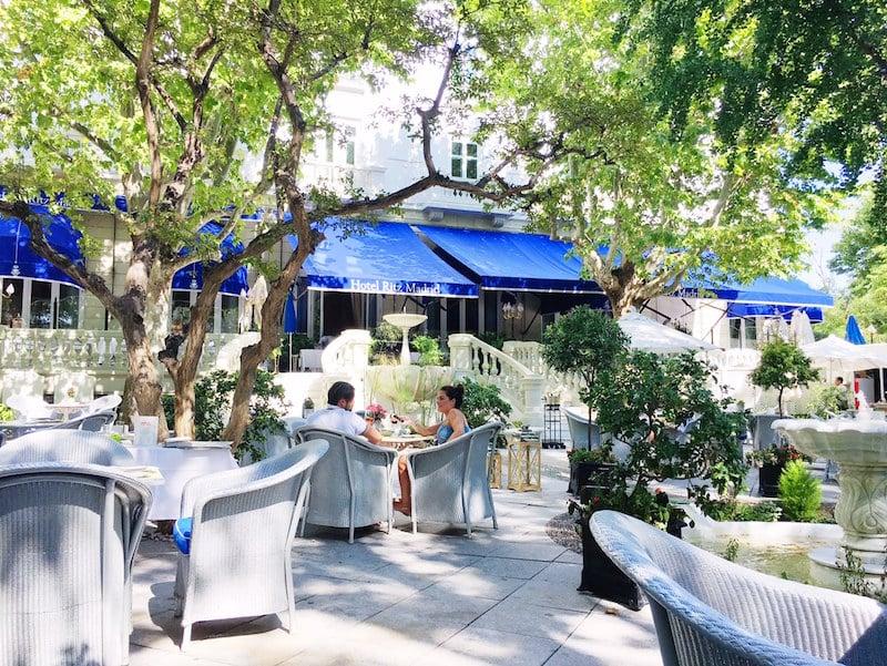 hotel ritz madrid garden terraces