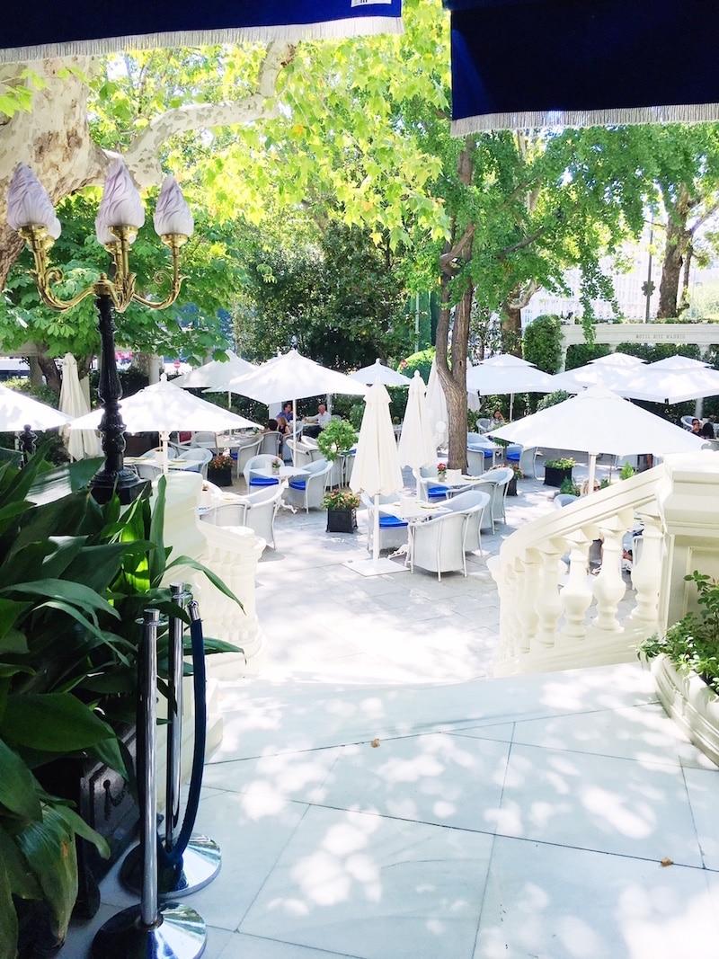 ritz madrid hotel garden terraces