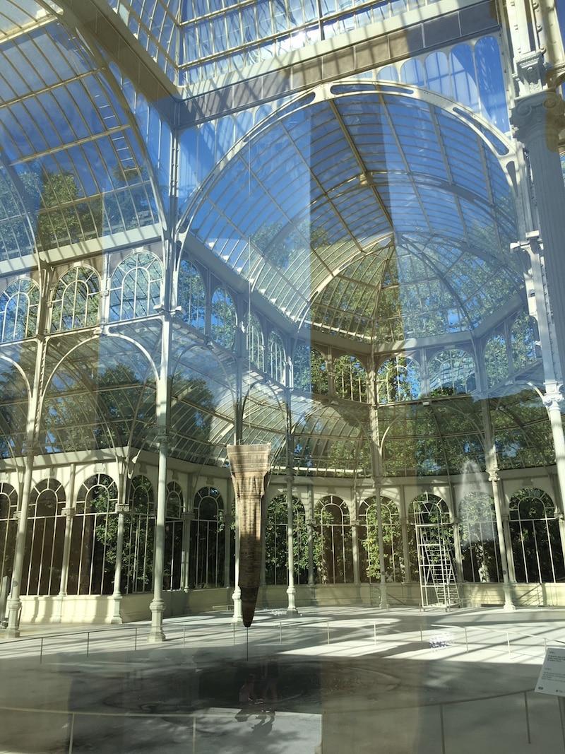 retiro park madrid crystal palace