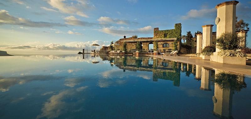 amalfi coast belmond hotel infinity pool