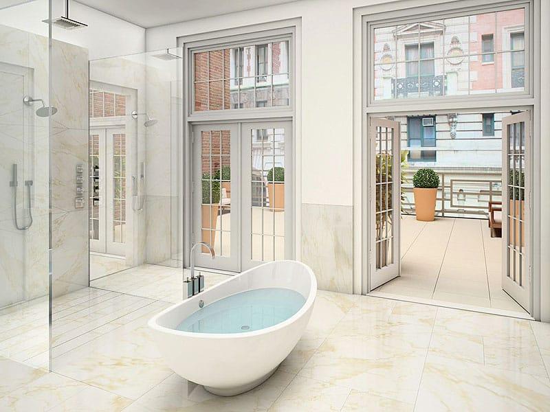 nyc penthouse bathroom