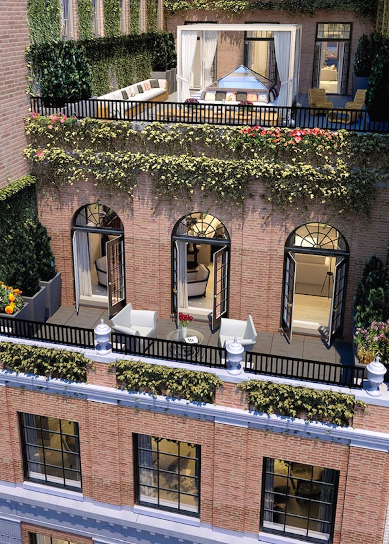nyc penthouse exterior