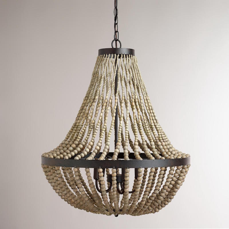 Luxury  large beaded chandelier
