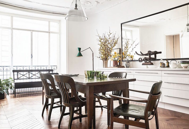 chloe parisian home dining room table chairs