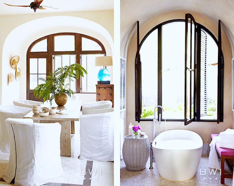 costa rica vacation home dining room bathtub