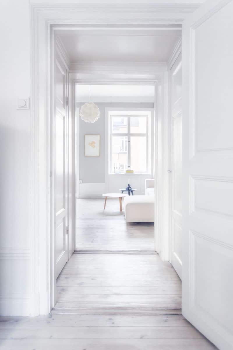 sweden home hallway