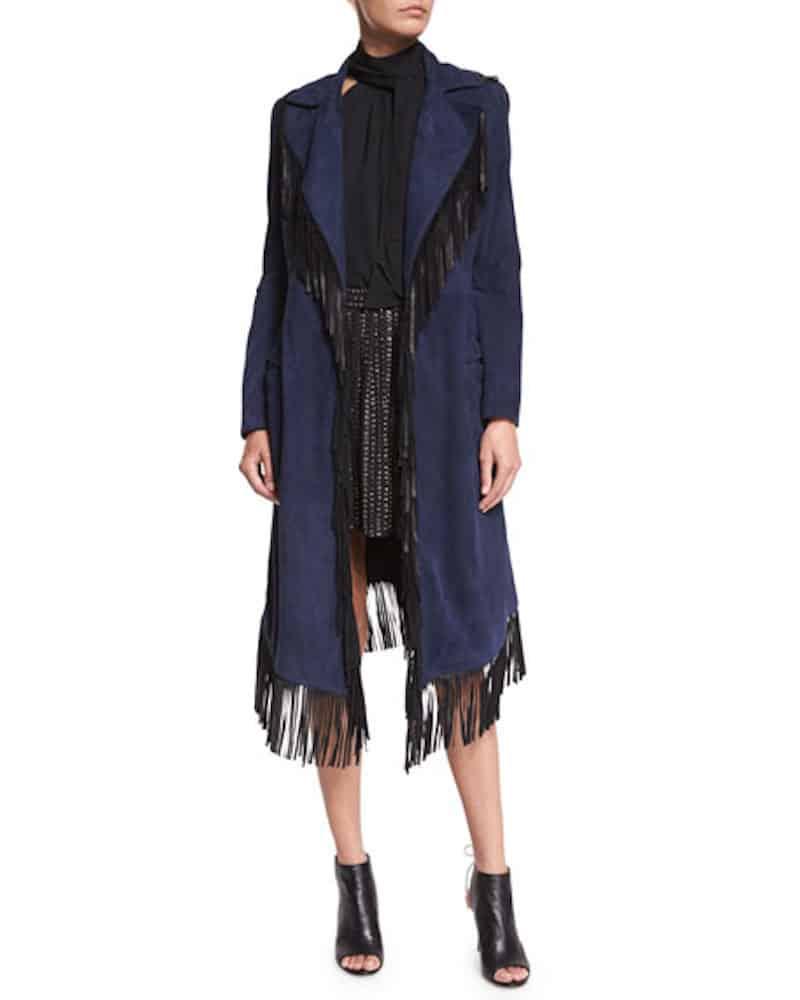 fringe suede jacket