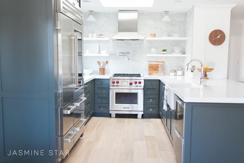kitchen white counters