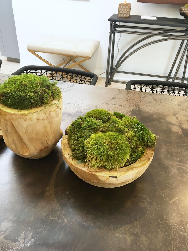 eclectic modern dining room moss