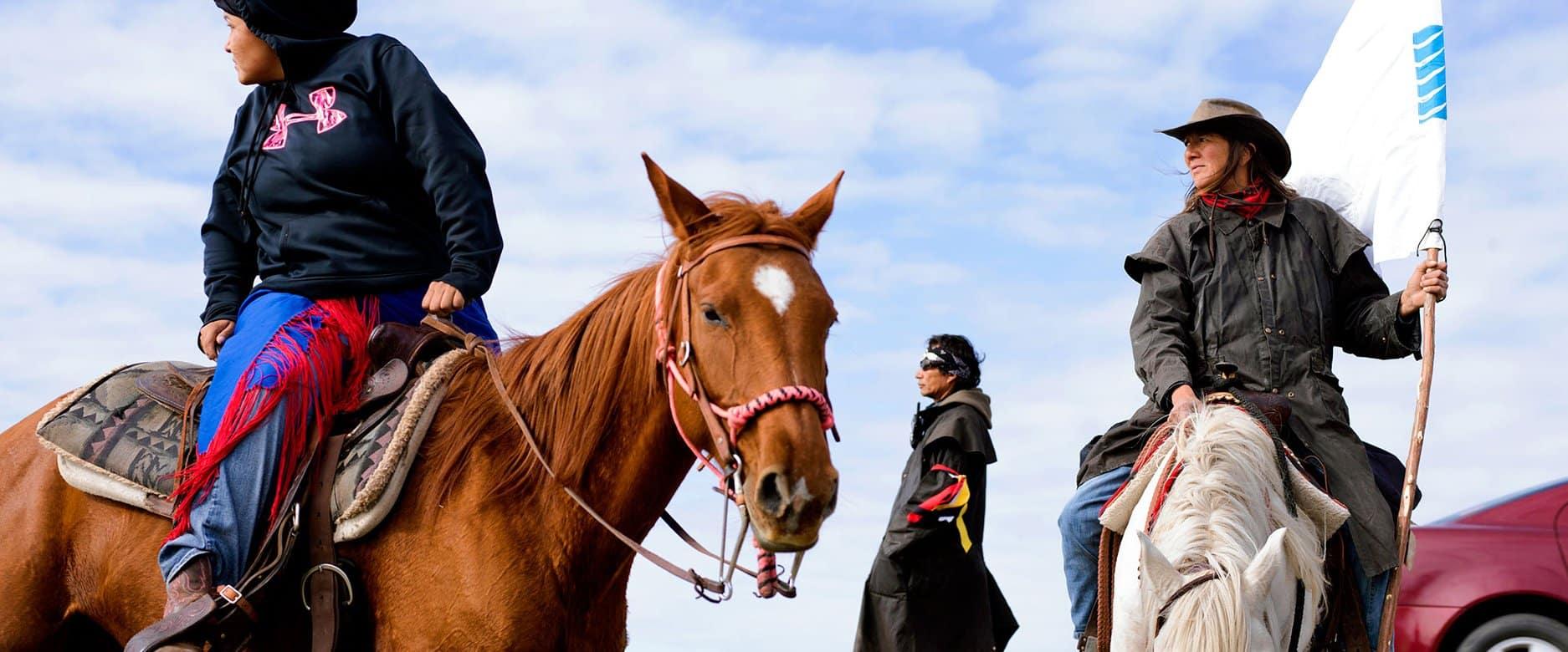 rustic horses native american riding