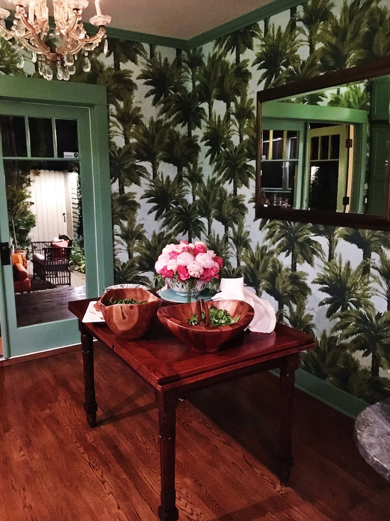 Venice Beach cottage dining room table