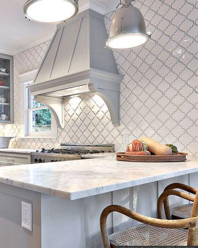 Glass Tile Backsplash Ideas: 17 Tempting Tile Backsplash Ideas For Behind The Stove