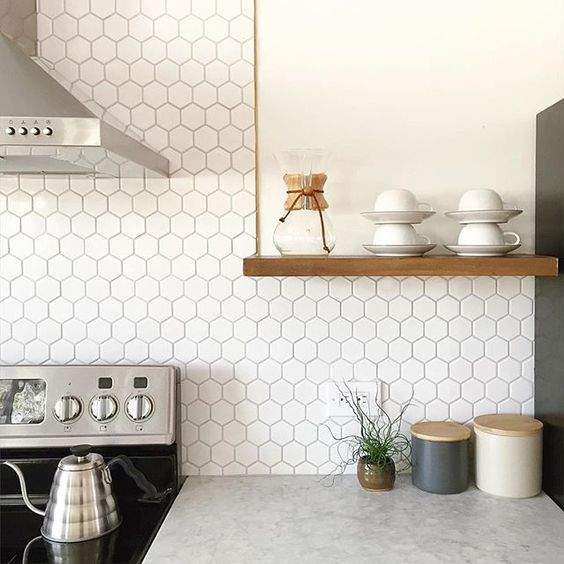 share & 17 Tempting Tile Backsplash Ideas for Behind the Stove | COCOCOZY