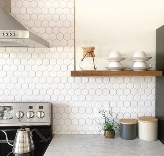 Unique 17 Tempting Tile Backsplash Ideas for Behind the Stove | COCOCOZY OE76