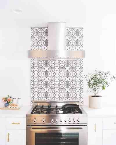 Kitchen Backsplash Range: 17 Tempting Tile Backsplash Ideas For Behind The Stove