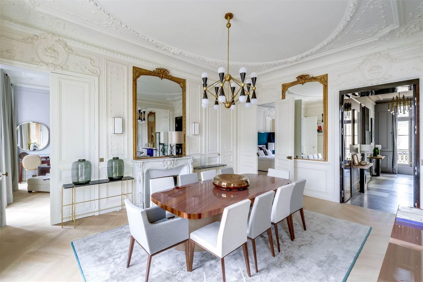 Classic Parisian Apartment Modern Twist | COCOCOZY