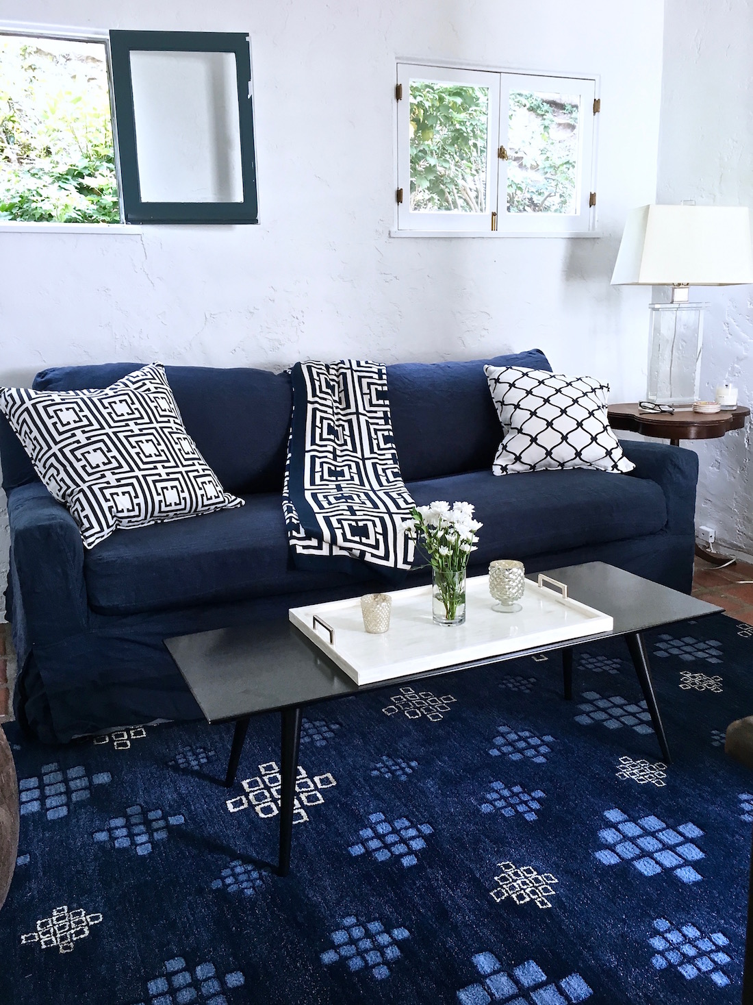 modern living room table sets. Blue  White Den Progress Rug Roulette Home COCOCOZY