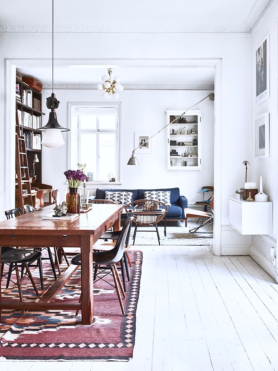 His Amp Her Home Design Compromise Stockholm Style Cococozy