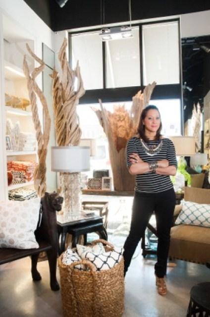Deanna Breaux Gathe interior designer owner Peluche Decor Houston TX