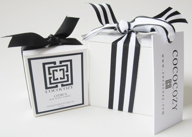 COCOCOZY Candle and it's gift box
