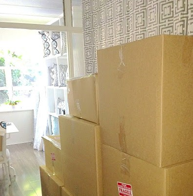 Packing day at COCOCOZY HQ office
