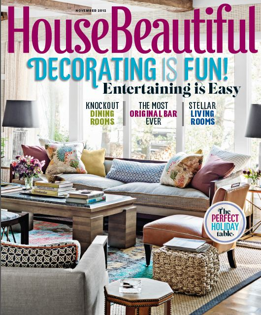 House Beautiful Living Room Ideas: COCOCOZY EXCLUSIVE: BEHIND CLOSED DOORS AT A CELEBRITY