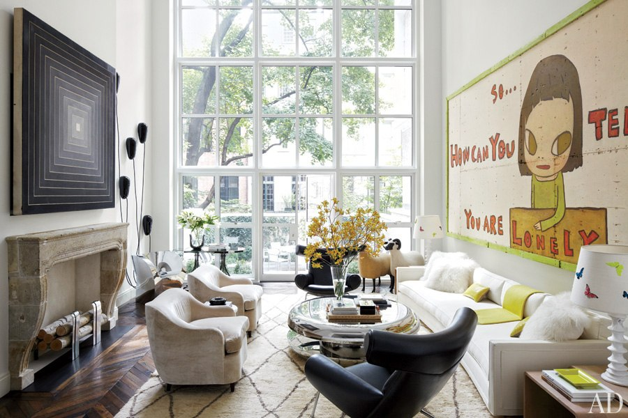 An Artfully Designed New York City Townhouse Cococozy