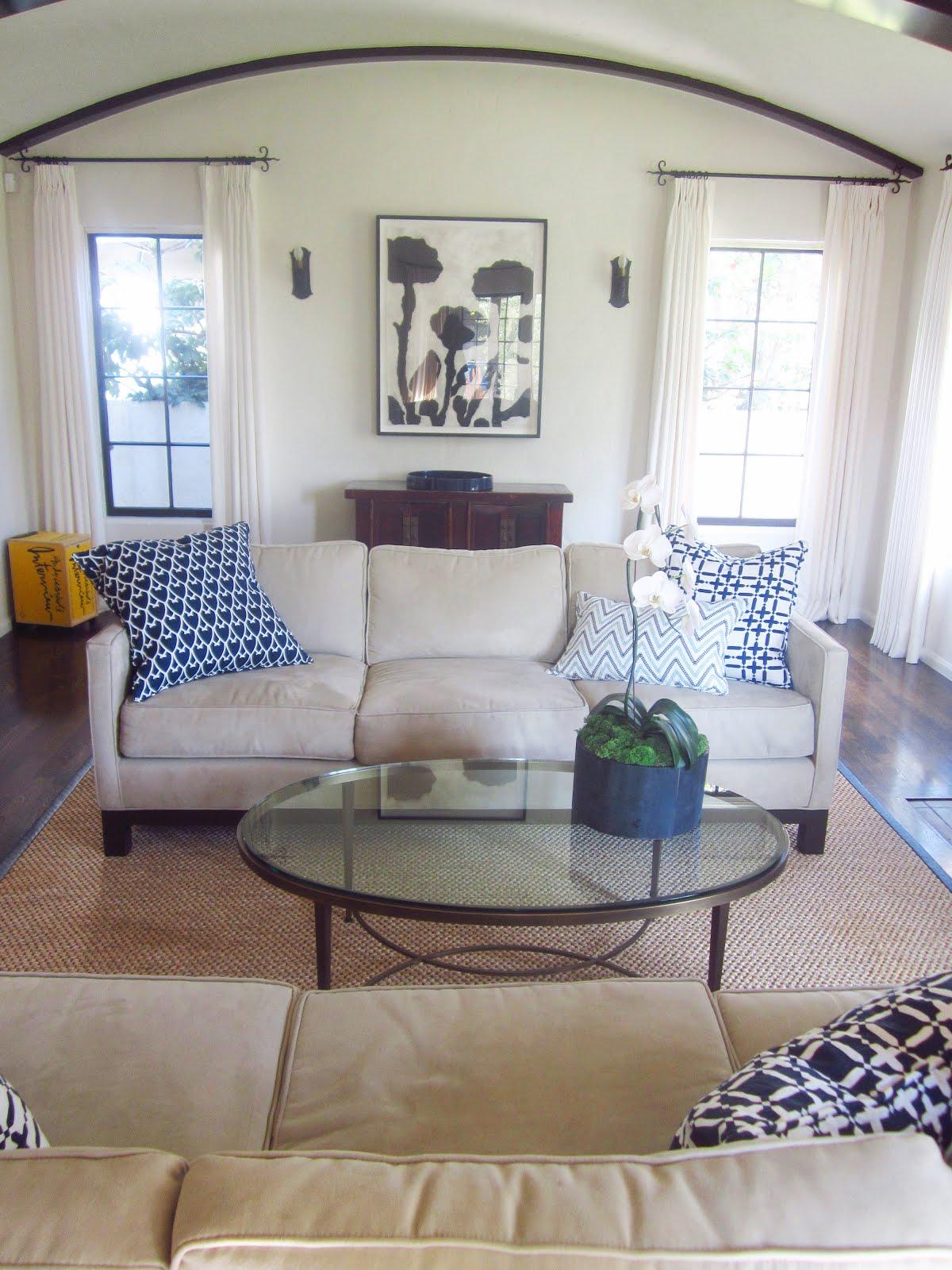 COCOCOZY EXCLUSIVE: SIMPLY ELEGANT CALIFORNIA LIVING ROOM ...