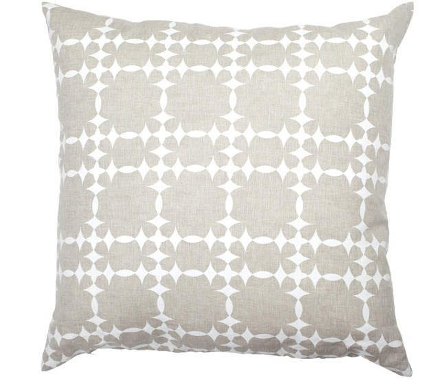 COCOCOZY Tower Court Natural Linen Pillow Cover