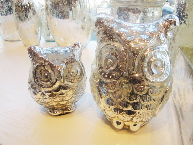Two Mercury Owls