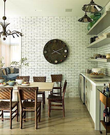 Subway Tile Kitchen Dark Grout: TILE FILE: GOOD KITCHEN DESIGN