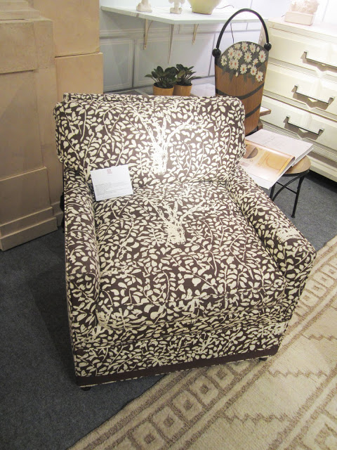 vintage Billy Baldwin upholstered chair